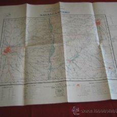 Militaria: MAPA MILITAR - CARTOGRAFIA MILITAR DE ESPAÑA - PLANO DIRECTOR - HOJA 581 NAVALCARNERO CUARO I. Lote 30978995