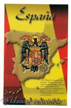 TRIPTICO UNIDAD INDIVISIBLE CON DOS Nº LOTERIA 2001- FRANCO ESPAÑA FALANGE (Militar - Propaganda y Documentos)