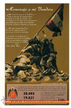 Militaria: TRIPTICO UNIDAD INDIVISIBLE CON DOS Nº LOTERIA 2001- FRANCO ESPAÑA FALANGE - Foto 2 - 31589876