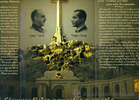 Militaria: TRIPTICO UNIDAD INDIVISIBLE CON DOS Nº LOTERIA 2001- FRANCO ESPAÑA FALANGE - Foto 3 - 31589876