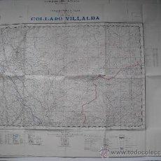Militaria: CARTOGRAFIA MILITAR DE ESPAÑA PLANO DIRECTOR 1/25000 COLLADO VILLALBA. Lote 31579767