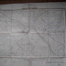 Militaria: CARTOGRAFIA MILITAR DE ESPAÑA PLANO DIRECTOR 1/10000 VALLECAS ( CASA DE BORO). Lote 31579829