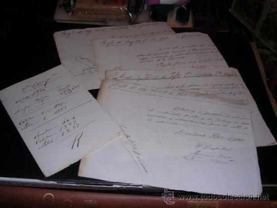 DOCUMENTOS AUTOGRAFOS MANUSCRITOS GUERRA DE CUBA REG. DEL REY 1ER BAT. 2ª COMPAÑIA 1875 (Militar - Propaganda y Documentos)