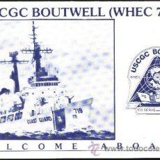 Militaria: WELCOME ABOARD USCGC BOUTWELL. Lote 127635646