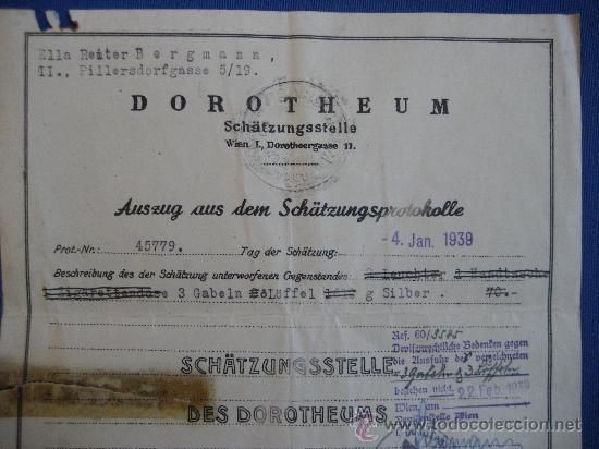Militaria: DOCUMENTO ORIGINAL ALEMANIA WW2 100 %100 AUTÉNTICO NSDAP - Foto 2 - 32237678