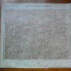 Militaria: HOJA 18 DEL MAPA MILITAR ITINERARIO 1:200000. Lote 32364093