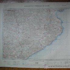 Militaria: HOJA 29 DEL MAPA MILITAR ITINERARIO 1:200000. Lote 32364194