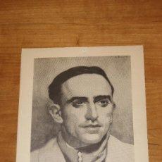Militaria: CARTEL ORIGINAL DE FRANCISCO ASCASO, DE LA GUERRA CIVIL. 1936. CNT FAI. ANARQUISTA.. Lote 32386477
