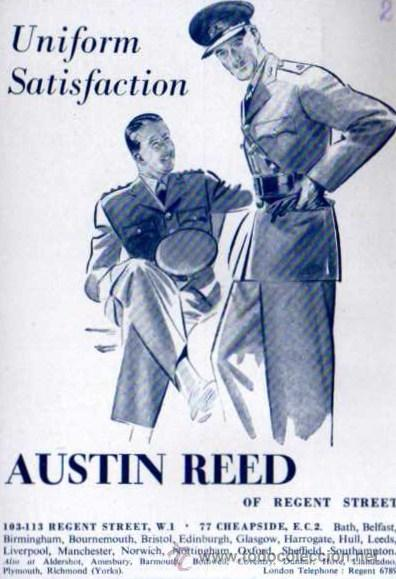 Publicidad Austin Reed Uniformes Ejercito B Buy Military Propaganda And Military Documents At Todocoleccion 32886474