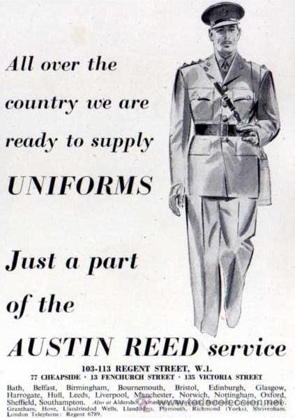 Publicidad Austin Reed Uniformes Ejercito B Buy Military Propaganda And Military Documents At Todocoleccion 32886476
