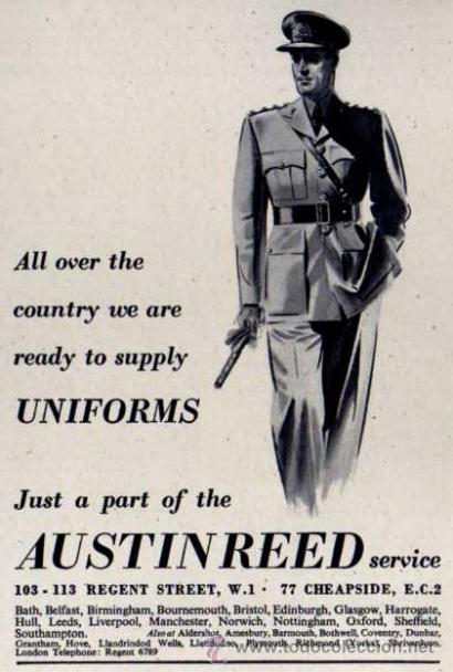 Publicidad Austin Reed Uniformes Ejercito B Buy Military Propaganda And Military Documents At Todocoleccion 32886481
