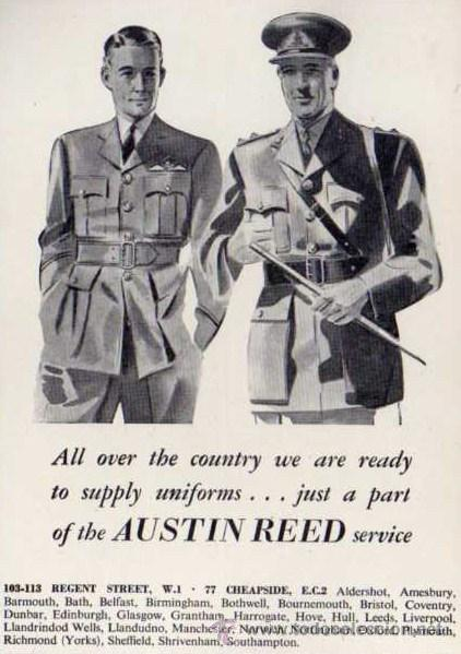 Publicidad Austin Reed Uniformes Ejercito B Buy Military Propaganda And Military Documents At Todocoleccion 32886483