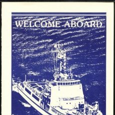 Militaria: WELCOME ABOARD USCGC RESOLUTE . Lote 33091321