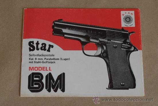 antiguo manual de instrucciones de pistola star comprar propaganda rh todocoleccion net Star 380 Stainless Star SS 380 Holster