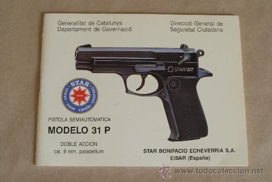 antiguo manual de instrucciones de pistola star comprar propaganda rh todocoleccion net star safire 380 hd manual Star SS 380 Holster