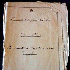 Militaria: DOCUMENTACIÓN CORRESPONDIENTE A UNA COMPAÑÍA MILITAR. REGIMIENTO DE INFANTERÍA DE MURCIA. 1928. Lote 33427454