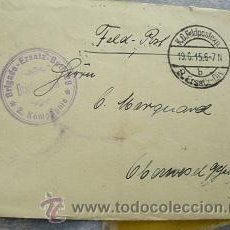 Militaria: CARTA 1915 DEUTSCHE REICH. 8 ERSATZ DIV. RARA. Lote 33563134