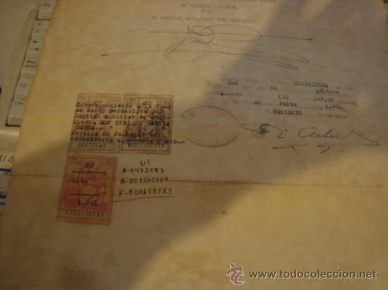 DOCUMENTO MILITAR, JEFE DEL ESTADO Y GENERALISIMO EJERCITOS, CAPITAN GENERAL , TENIENTE, ALFEREZ (Militar - Propaganda y Documentos)