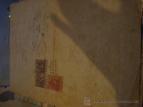 Militaria: documento militar, jefe del estado y generalisimo ejercitos, capitan general , teniente, alferez - Foto 21 - 33770154