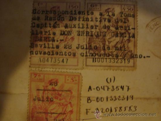 Militaria: documento militar, jefe del estado y generalisimo ejercitos, capitan general , teniente, alferez - Foto 16 - 33770154