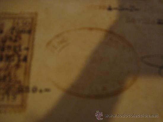 Militaria: documento militar, jefe del estado y generalisimo ejercitos, capitan general , teniente, alferez - Foto 6 - 33770154