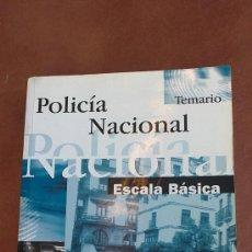 Militaria: POLICIA NACIONAL(ESCALA BASICA).MAD. Lote 33798290