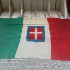 Militaria: BANDERA ITALIANA. UTILIZADA DURANTE LA GUERRA CIVIL EN ESPAÑA.. Lote 33966236