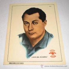 Militaria: PEGATINA POLITICA DE LA FALANGE - JOSE ANTONIO PRIMO DE RIVERA. Lote 33999307