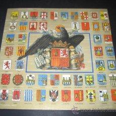 Militaria: DIPTICO LOTERIA NACIONAL 1993. FRANCO ESCUDOS PROVINCIAS ESPAÑOLAS. Lote 35037353