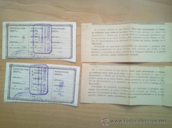 Militaria: LOTE DE DOCUMENTOS Y CARTILLAS MILITARES - Foto 15 - 35218837