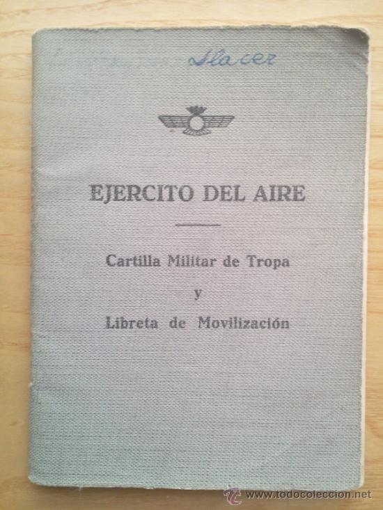 Militaria: LOTE DE DOCUMENTOS Y CARTILLAS MILITARES - Foto 19 - 35218837
