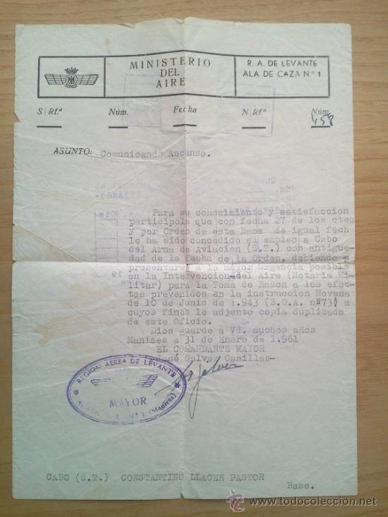 Militaria: LOTE DE DOCUMENTOS Y CARTILLAS MILITARES - Foto 25 - 35218837