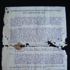 Militaria: CARACTERISTICAS DEL ACEITE PARA MÁQUINAS, TURBINAS Y DIESEL POR EL ALMIRANTAZGO BRITANICO. VER FOTOS. Lote 35431140