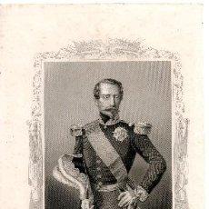 Militaria: GRABADO DE NAPOLEON III. Lote 35886543