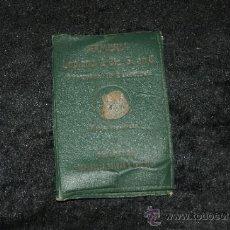 Militaria: ANTIGUA FUNDA DE CARNET DE ARMERIA DE BARCELONA. Lote 36005035