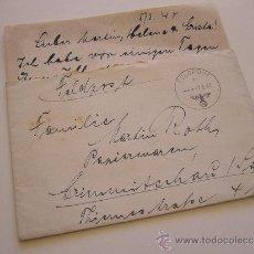 Militaria: DOCUMENTO MILITAR ALEMÁN. CARTA. AÑO 1940.. Lote 36251424