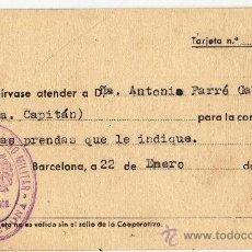 Militaria - GOBIERNO MILITAR. SASTRERIA - 37624194