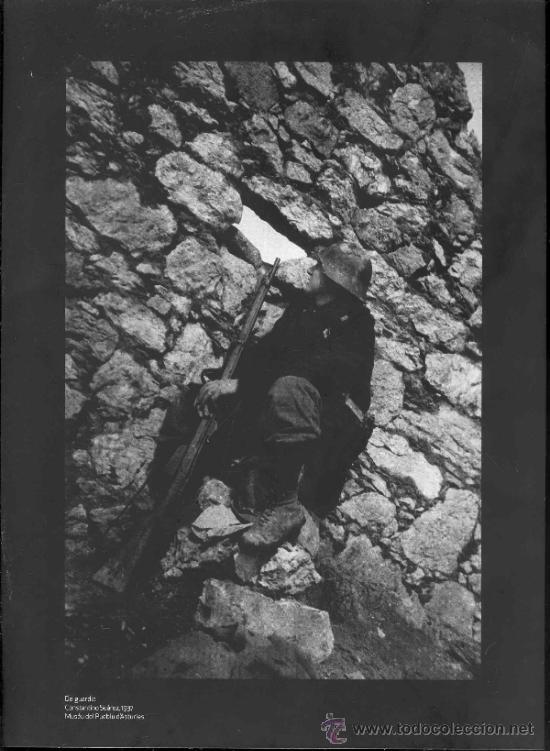 Militaria: 17 REPRODUCCIONES FOTOGRAFICAS DE LA GUERRA CIVIL EN ASTURIAS - Foto 8 - 37829119