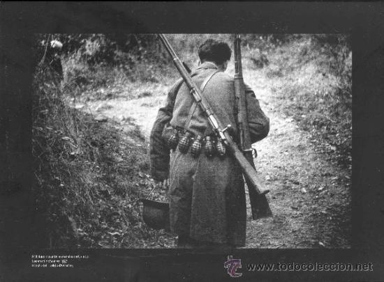Militaria: 17 REPRODUCCIONES FOTOGRAFICAS DE LA GUERRA CIVIL EN ASTURIAS - Foto 16 - 37829119