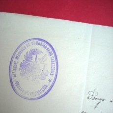 Militaria: REGIMIENTO DE DRAGONES DE NUMANCIA - CAPITAN MARIANO DE FORONDA - 1913. Lote 38231983