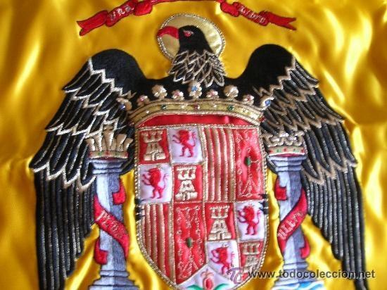 Escasa Bandera Bordada De España Aguila San Ju Kaufen Militärpropaganda Und Militärische Dokumente In Todocoleccion 38687791