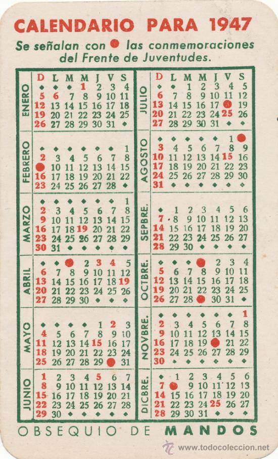 Calendario 1949.Calendario 1949 Agosto Ikbenalles
