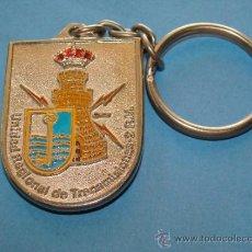 Militaria: LLAVERO MILITAR. UNIDAD REGIONAL DE TRANSMISIONES, 2ª REGIÓN MILITAR. . Lote 38667565