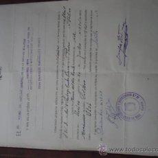 Militaria: RECLUTAMIENTO Y MOVILIZACION- CAPITAN GENERAL LA 2 REGION MILITAR, CORONEL JEFE CAJA RECLUTA HUELVA. Lote 38683928