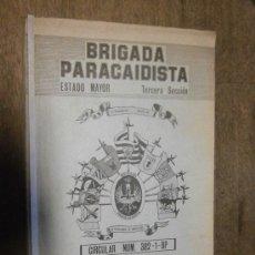 Militaria: BRIGADA PARACAIDISTA, ESTADO MAYOR, TERCERA SECCIÓN, CIRCULAR Nº382-1-BP, 1982 . Lote 39053335