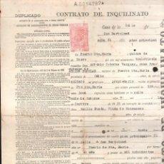 Militaria: ACCION POPULAR CONTRATO DE INQUILINATO 1926. PUERTO SANTA MARIA. LEER. Lote 39380858