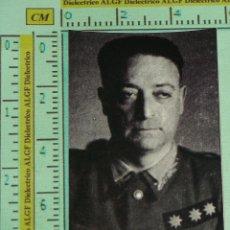 Militaria: PUBLICIDAD POLÍTICO / MILITAR. TENIENTE CORONEL, A DETERMINAR C315. Lote 39867419