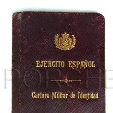 Militaria: 1 CARTERA MILITAR, DE UN COMANDANTE DE INFANTERÍA EP. A XIII. CON FOTO.. Lote 40738523