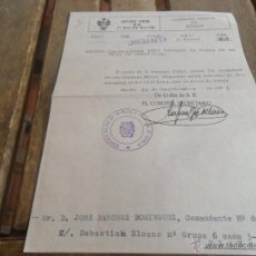 Military - CAPITANIA GENERAL SEGUNDA REGION MILITAR CITACION RECOGER HOJA DE SERVICIO - 41133977
