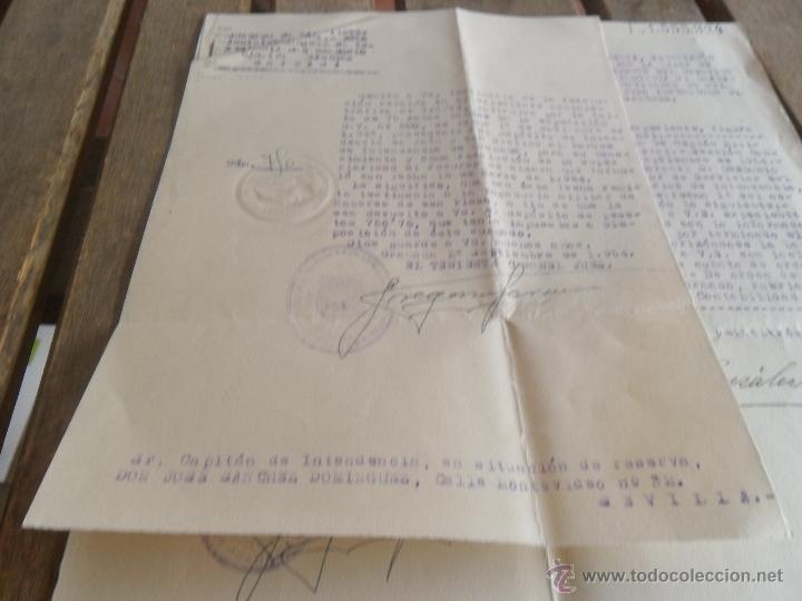 JUZGADOS DE EXPEDIENTES JUEZ TENIENTE CORONEL RESOLUCION DEVOLUCION PAGADURIAS FALTA 75 SACOS VACIOS (Militar - Propaganda y Documentos)